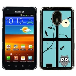 One Tough Shield ® Hard Cover Case for Samsung Galxy S II - Moon/Owl - I love cell phone cases. It's a treat to sport a new case. I always feel so up to date. #treatyourself #shopkick