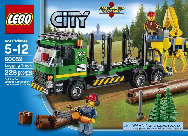 LEGO City Logging Truck 60059 - Discount Toys USA