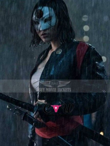 To all woman who want to stay trendy in the race of fashion, here is an amazing assortment of trendy New Katana Suicide Squad Tatsu Yamashiro Leather Jacket ! Rush up to grab yours now.