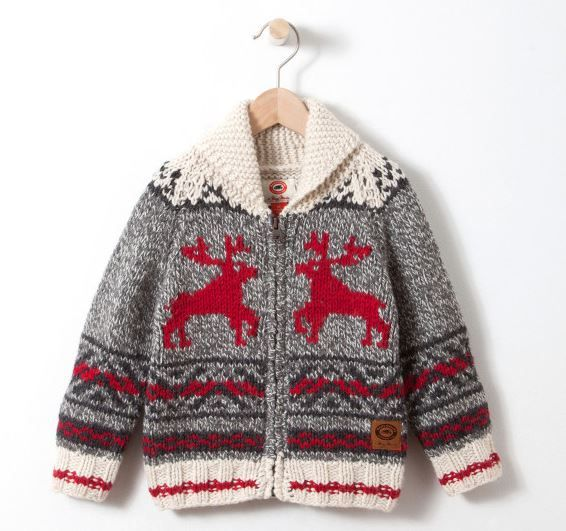 Get this luxe Toddler's Mary Maxim Reindeer Sweater at Roots @Swagbucks  #CandyCaneGang #UglySweater(enya1201)