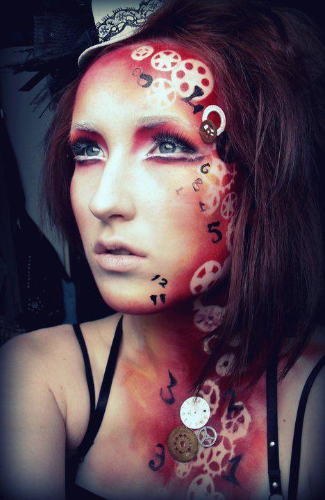 sugar skull candy makeup steampunk - Sök på Google