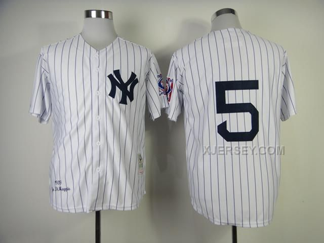 429f856a4 ... Shop Wholesale Authentic New York Yankees Joe DiMaggio 1939 Home Mitchell  Ness Jersey on sale online 4 beige New York Yankees Throwback Jersey Mens  ...