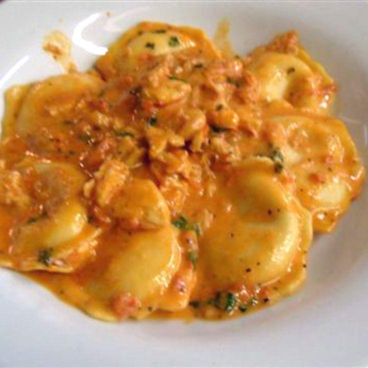 Yum! I'd Pinch That | Lobster Ravioli #recipe #justapinch