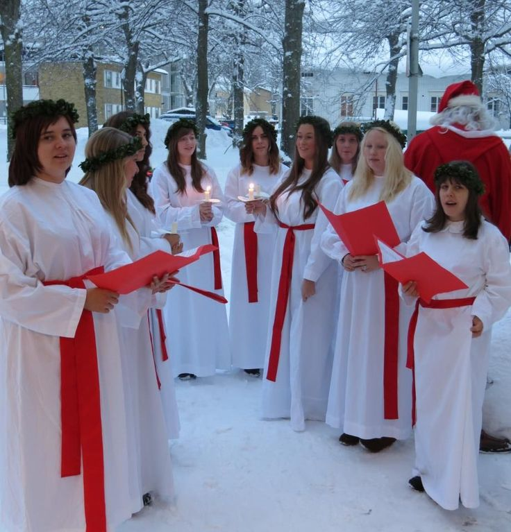 St Lucia celebrations in Åland