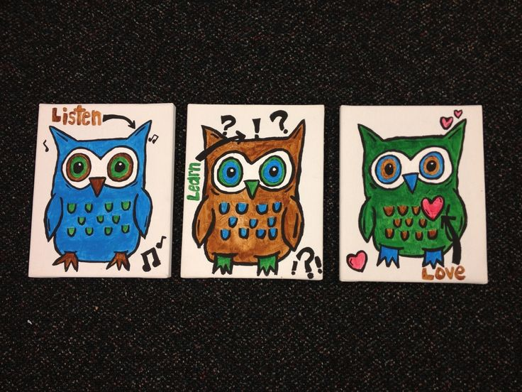 Listen learn love owls: Crafts Ideas, Owlsom Artworks, Counselor Corner, Counseling Ideas, Owls Som Artworks, Listening Learning, Counseling Offices, Creative Counseling, Counseling Resources