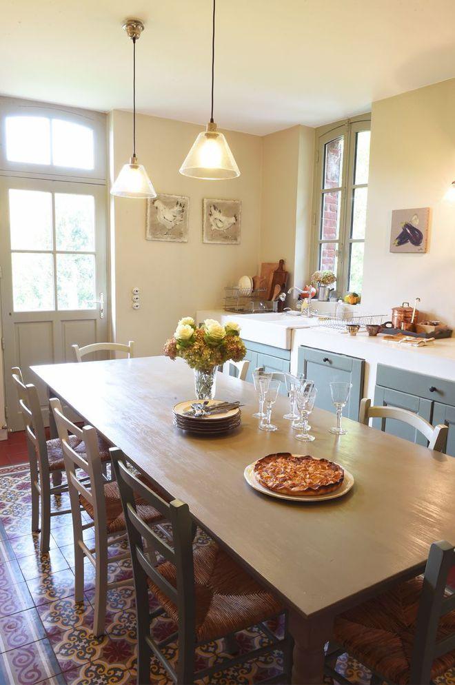 Maison normande  une ancienne ferme rénovée dans le Calvados