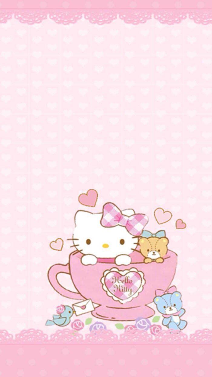 Sanrio Wallpaper, Kawaii Wallpaper, Hello Kitty Wallpaper, Colorful  Wallpaper, Hello Kitty Art, Hello Kitty Stuff, Sanrio Hello Kitty, Note  Paper, ...