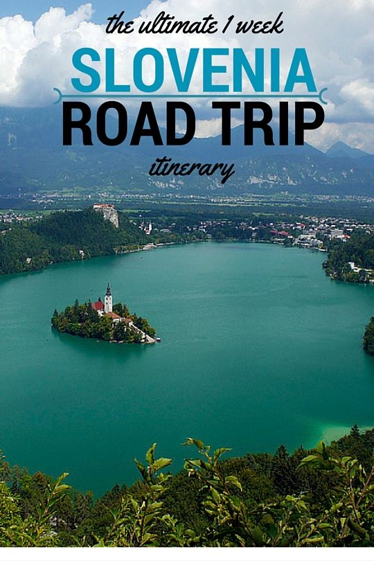 The Ultimate 1 Week Slovenia Road Trip Itinerary. Click the pin to read the post from www.flirtingwiththeglobe.com
