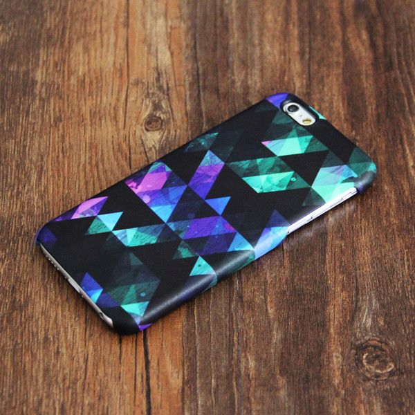 Stylish Black Geometric Pattern iPhone 6 Case/Plus/5S/5C/5/4S Case – Ac.y.c