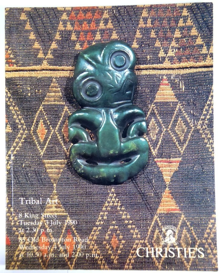 Tribal Art Reference Book Christie's July 1990 - The Collectors Bag