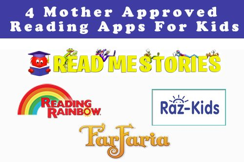 4 Mother Approved Reading Apps For Kids