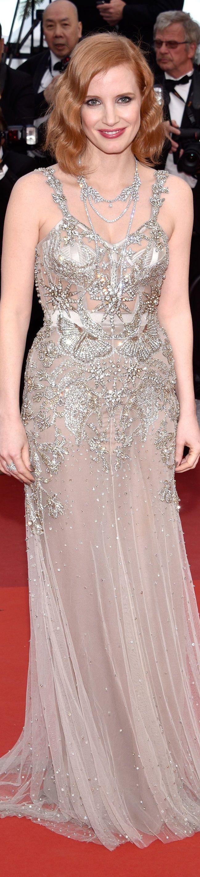 Jessica Chastain veste Alexander McQueen - Cannes 2016