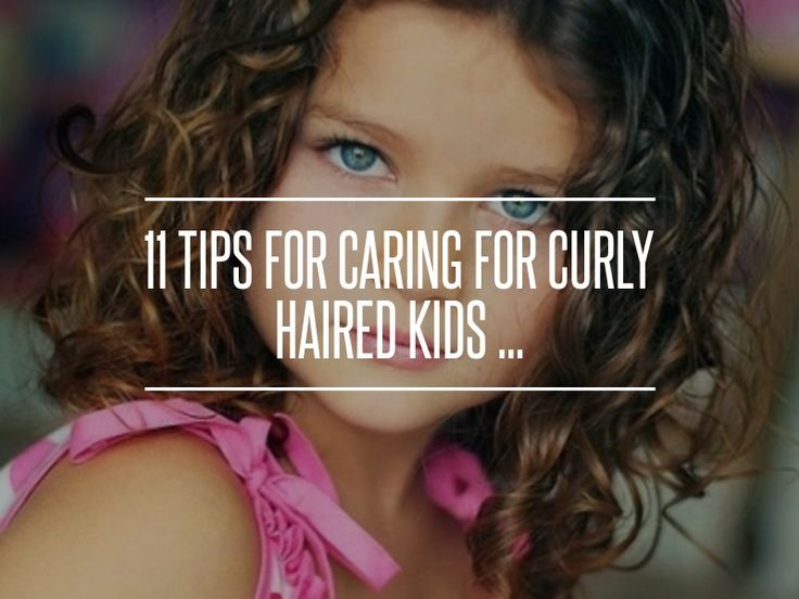 11 Tips for Caring for Curly Haired Kids ... → Parenting