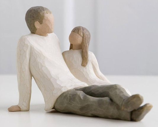 Father and Daughter by Willow Tree #FathersDay