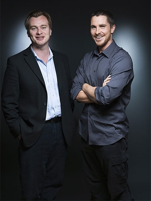 Christopher Nolan and Christian Bale