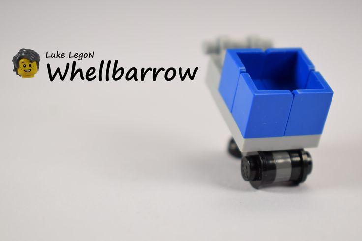 LEGO Wheelbarrow