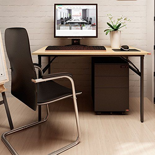 Need Computer Desk Office Desk 39.4Modern Folding Table Computer Table Workstation for Home&Office Use No Install Needed Teak Color Desktop Black Leg AC5BB-100-60 For Sale https://bestofficedeskchairsreviews.info/need-computer-desk-office-desk-39-4modern-folding-table-computer-table-workstation-for-homeoffice-use-no-install-needed-teak-color-desktop-black-leg-ac5bb-100-60-for-sale/