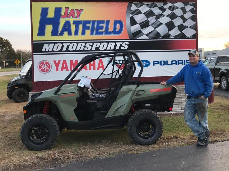 SCOTT, we hope you enjoy your new 2018 Can-AM Commander DPS 800R.  Congratulations and best wishes from Jay Hatfield Motorsports and Kevin Swope.