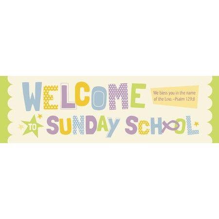 Welcome to Sunday School (Psalm 129:8, KJV) Bookmarks, 25