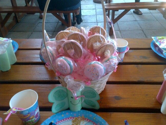 Smores n macaroons bouquet
