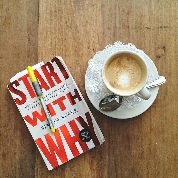 Start with Why, by Simon Sinek | 37 Books Every Creative Person Should Be Reading