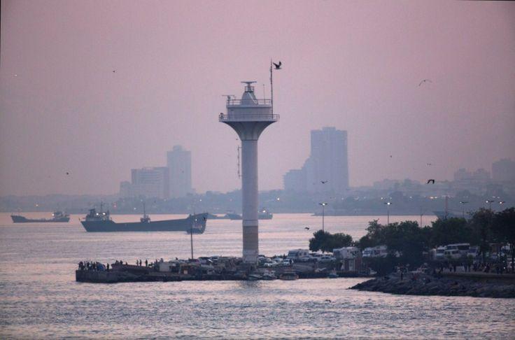 #Istanbul #sunset #port #turkey #cruises #louiscruises #travel