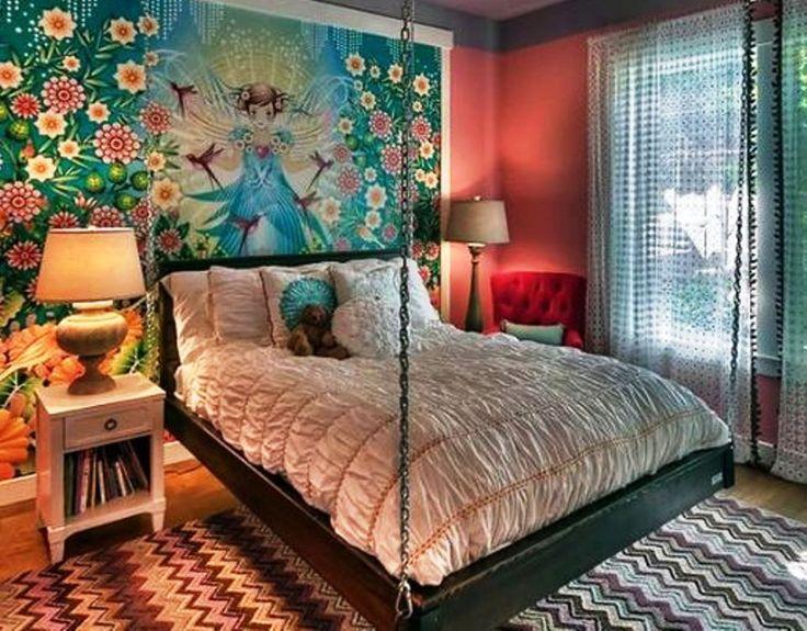 Εφηβικά κοριτσίστικα υπνοδωμάτια Με χαρακτήρα.