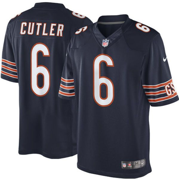 Jay Cutler Chicago Bears Nike Team Color Limited Jersey - Navy Blue - $89.99
