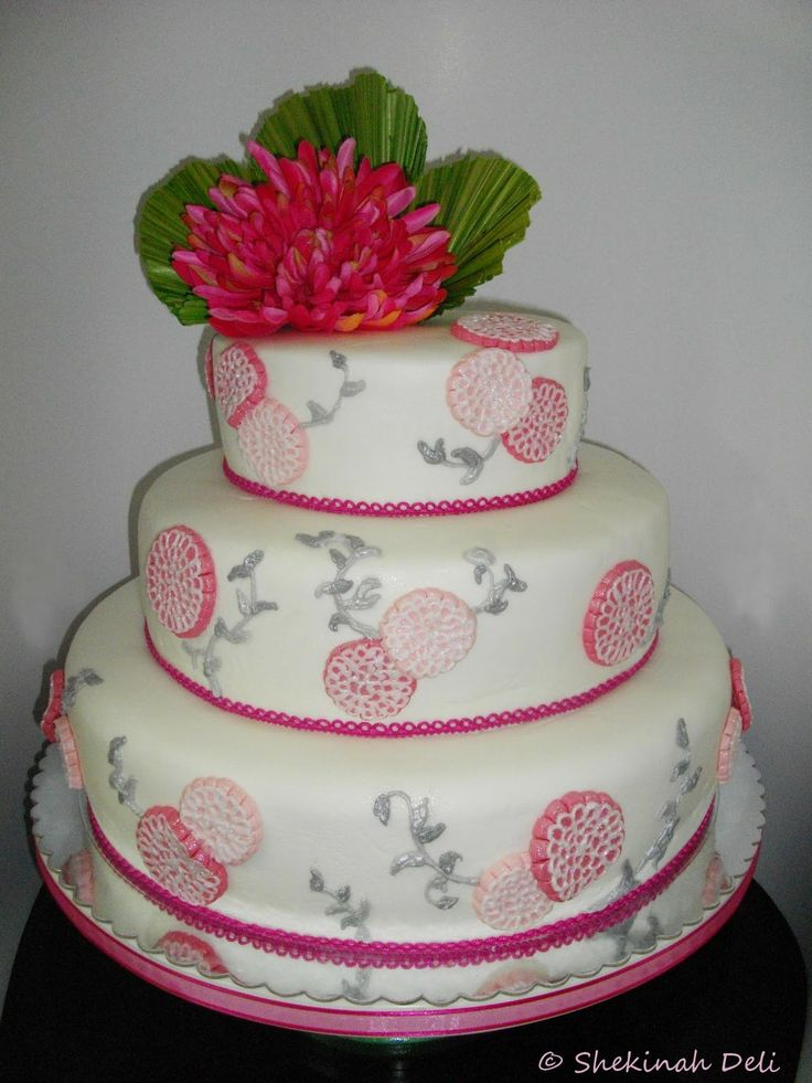 japanese cake | Shekinah Deli: Wedding cake - Japanese theme