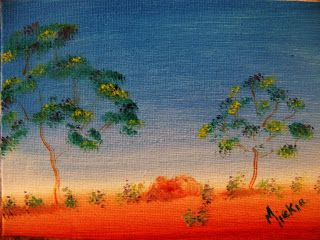 A Pretty Talent Blog: Painting A Graded background In Oils