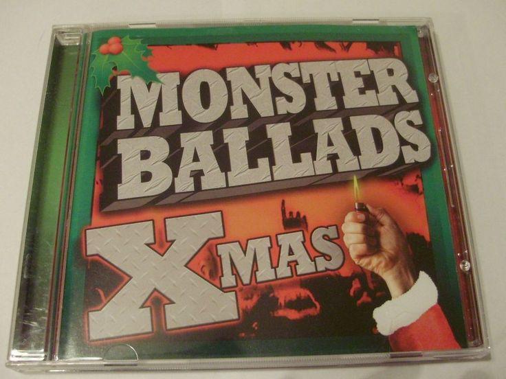 MONSTER BALLADS XMAS Various Artists 2007 Razor & Tie CD  #HardRock