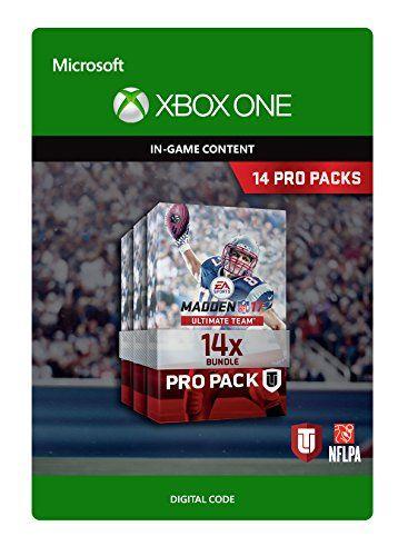 Madden NFL 17: 14 Pro Pack Bundle - Xbox One Digital Code