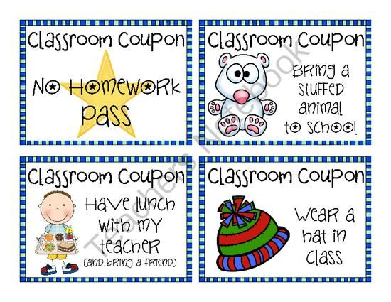 1000+ ideas about Classroom Coupons on Pinterest | Classroom ...