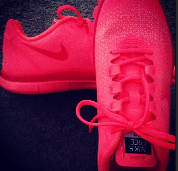more photos 41616 f3ce3 ... nike free runs 3.0 newkicks la nikefreerun coral just got these bad .  ...