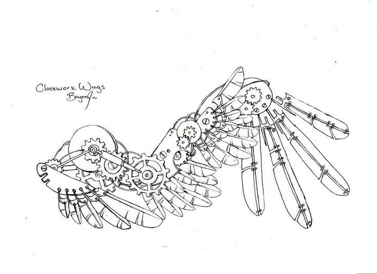 Clockwork Wings by Kiwi- REFERENCE Ch4n.deviantart.com on @deviantART