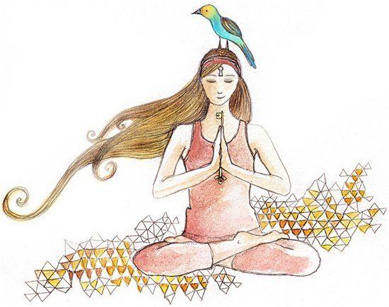 Мы не можем помешать птицам пролететь над головой, но мы можем помешать птице свести гнездо в наших волосах. (Древняя мудрость йоги)