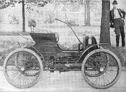 1900 friedman runabout friedman automobile co chicago il. Black Bedroom Furniture Sets. Home Design Ideas