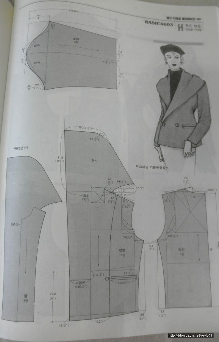 Hoodies patterns  / capucha y solapa