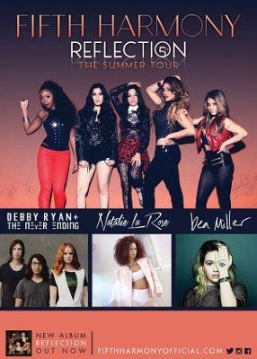 Fifth Harmony 2015 Summer Tour Dates #fifthharmony