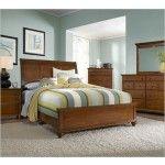 $1933.00  Broyhill - Hayden Light Cherry Sleigh Bedroom Set - 4648S