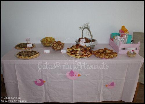 Festa do 1º aniversário da Clarinha - Casinhas e Passarinhos