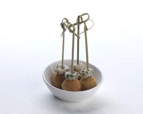 Chicken balls. Chef Adam Stokes