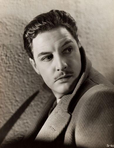Publicity still for ''The 39 Steps'' (1935) of Robert Donat as Richard Hannay.