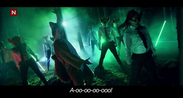 Ylvis - The Fox [Official music video HD]  My hubby and I saw them on The Ellen Degeneres Show and started busting up. Too freaking funny!!! Great take on a Psy styled song, lol! We just figured they have some really good super awesome drugs in Norway or Denmark or wherever they are from. Too FUNNY =)