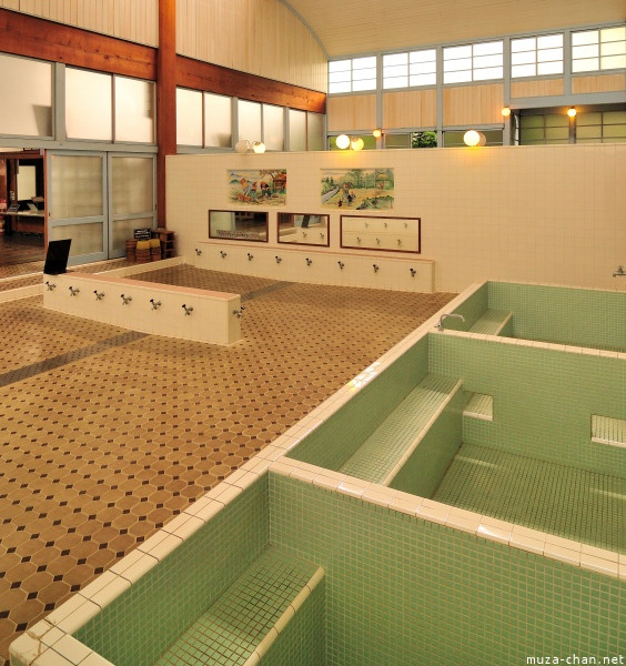 Visit a sento - Japanese bath house