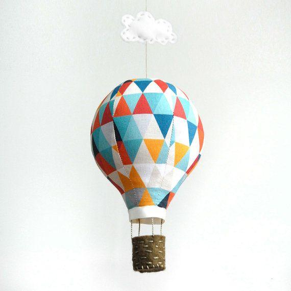 Hot Air Balloon Kit - Geometric on Etsy, $20.81 AUD
