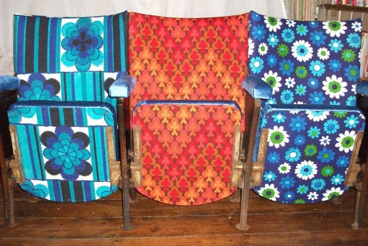 Vintage Cinema Seats