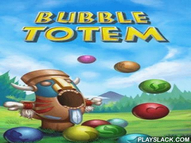 Bubble Totem  Android Game - playslack.com , a gleeful and multicoloured bubble-shooter. Using distinctive totem injuring  with multi-colored balls you should ruin balls hanging over you.