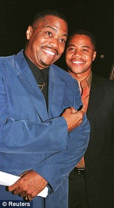 cuba gooding sr   Banned: Cuba then banned his father, Cuba Gooding Sr, from the set of ...