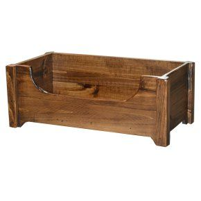 2 Day Designs Rustic Dog Toy Chest - Toys at Hayneedle